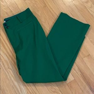 Never worn Crop flare anthropologie pant